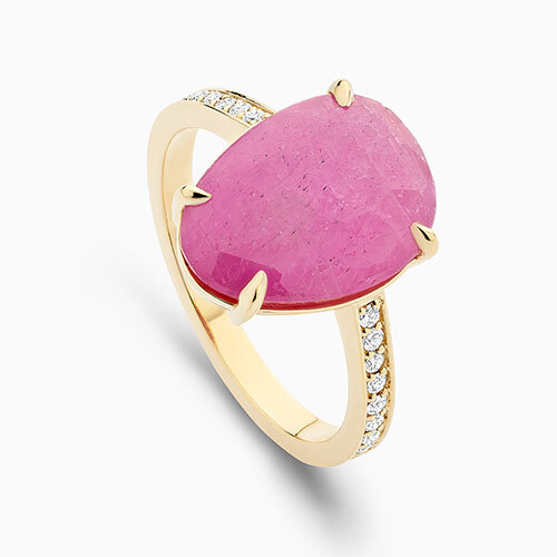 Stackable Marquise Cut Ring
