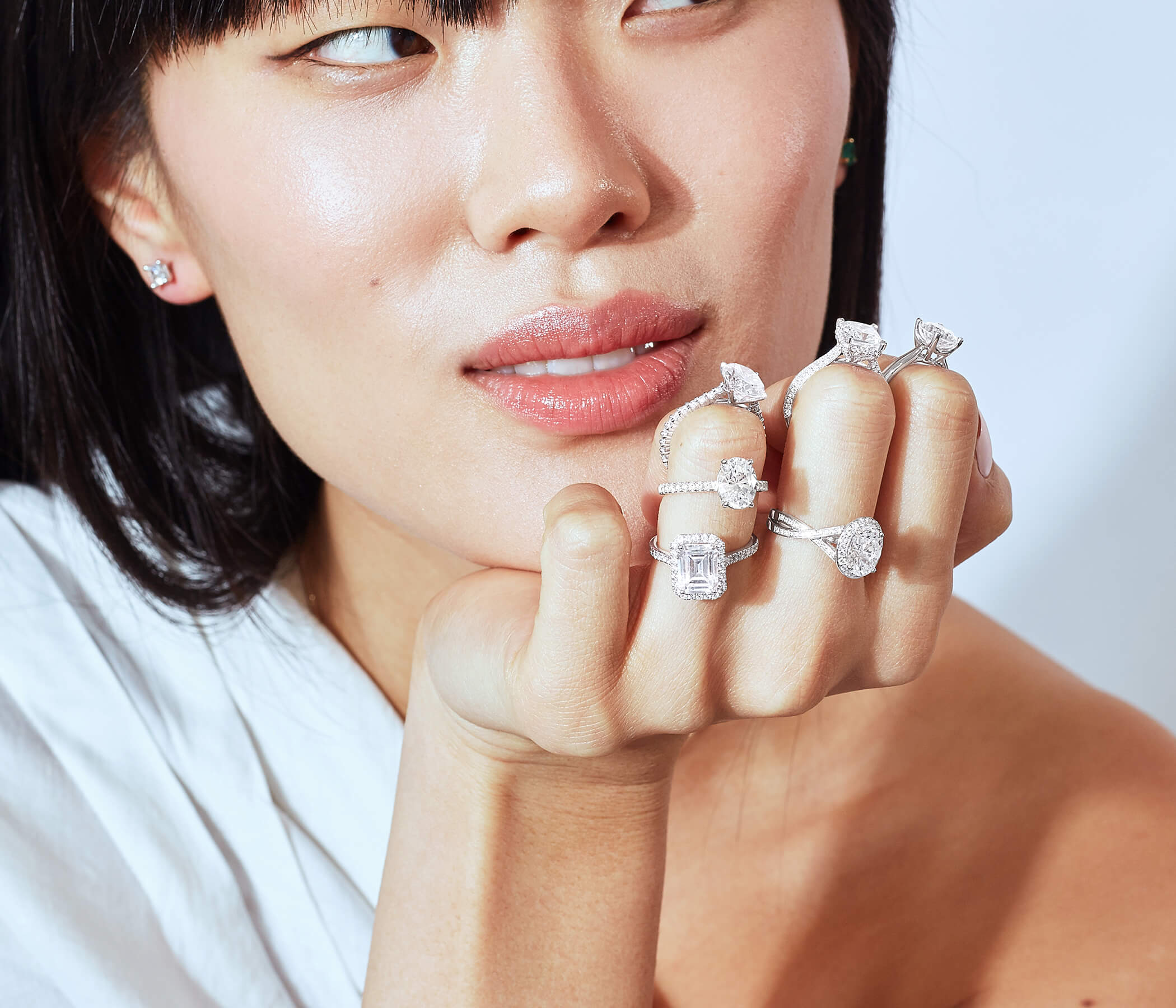 6 Solitaire with Diamond Band Engagement Rings That Will Never Go Out of Style